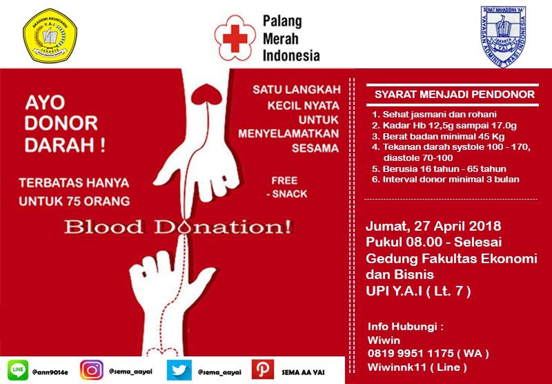Ayo Donor Darah!