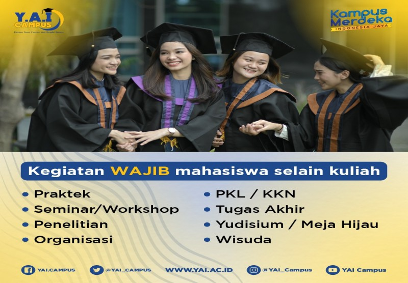 Kegiatan Wajib Mahasiswa Selain Kuliah