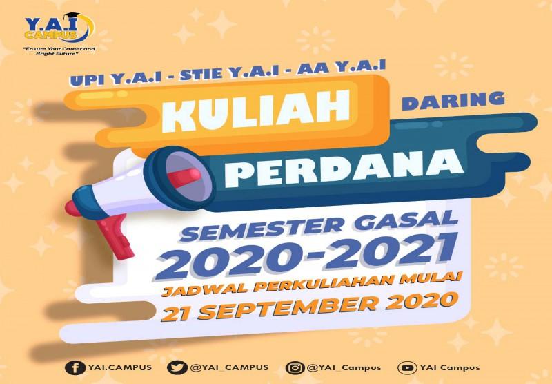 Kuliah Perdana Semester Gasal 2020-2021