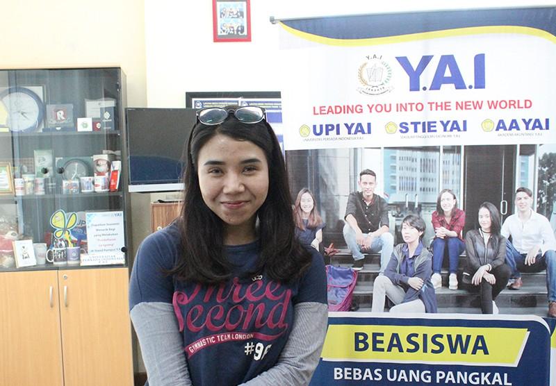 Mahasiswa Berprestasi Kampus Y.A.I - Karateka POMNAS XVI Jakarta 2019