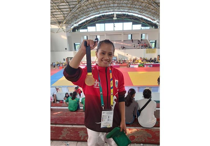 Mahasiswa Berprestasi Kampus Y.A.I - Medali Emas Judo POMNAS XVI Jakarta 2019