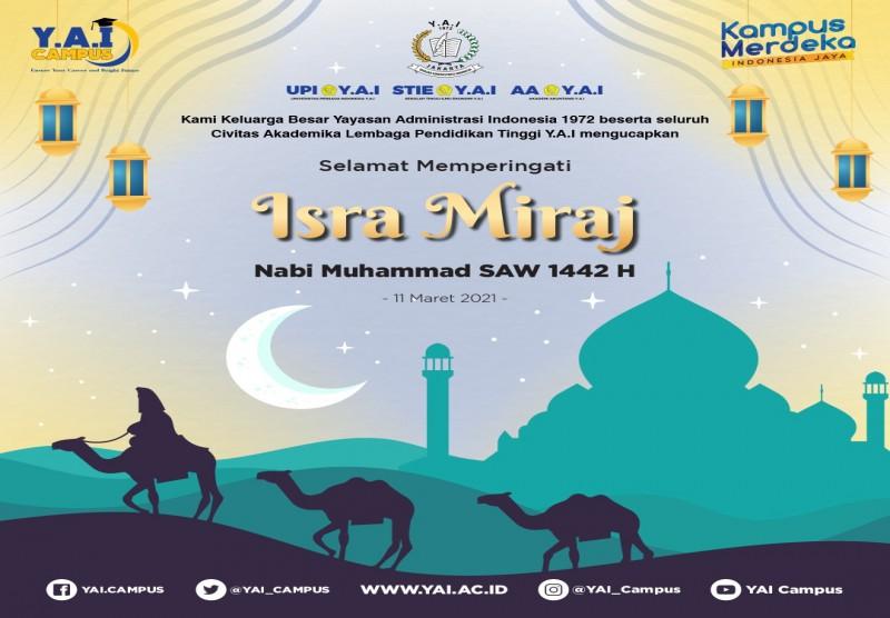 Memperingati Isra Miraj Nabi Muhammad SAW 1442H