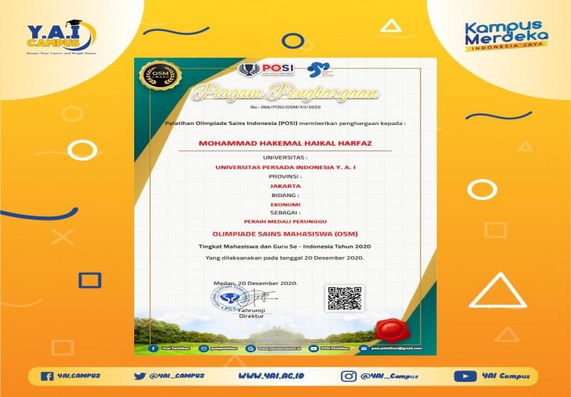 Olimpiade Sains Mahasiswa (OSM) 2020 Tingkat Mahasiswa dan Guru Se-Indonesia