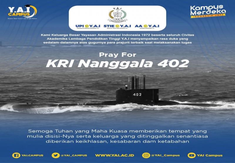 Pray For KRI Nanggala 402