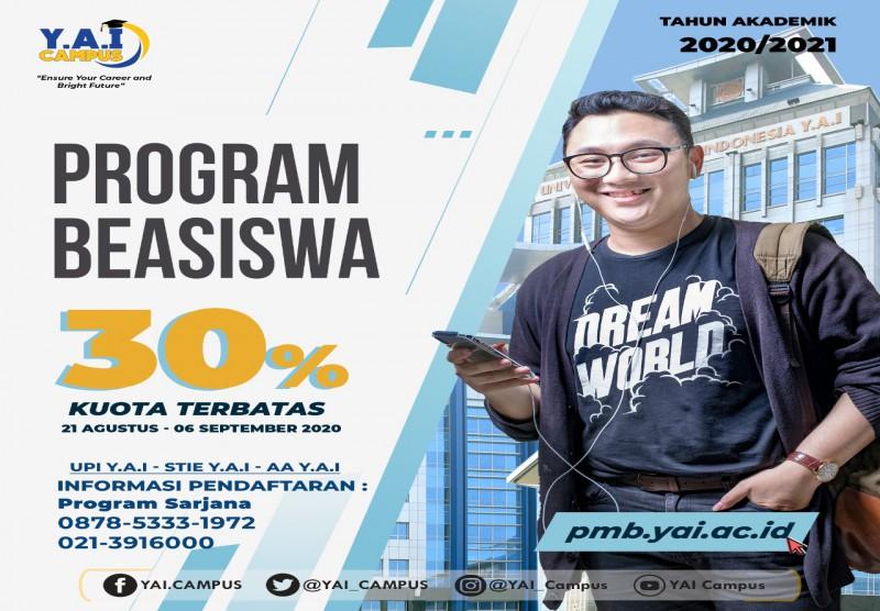 Program Beasiswa 30%