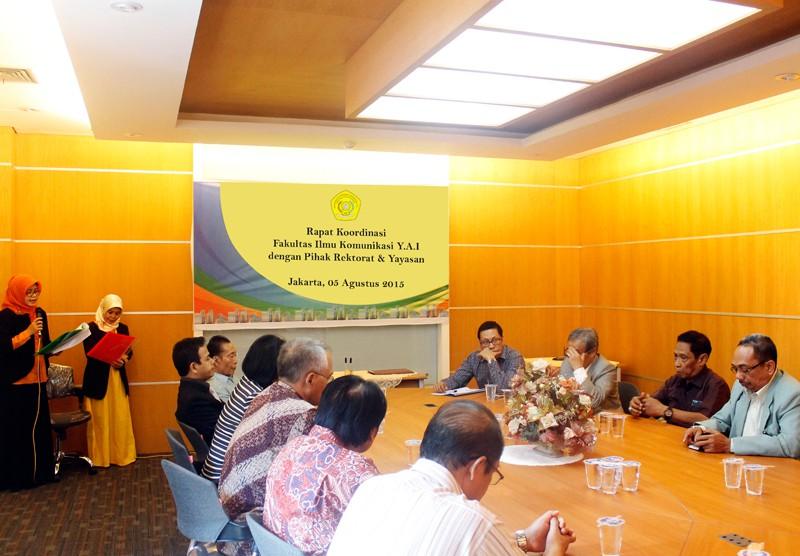 Rapat Koordinasi Fakultas Ilmu Komunikasi UPI Y.A.I