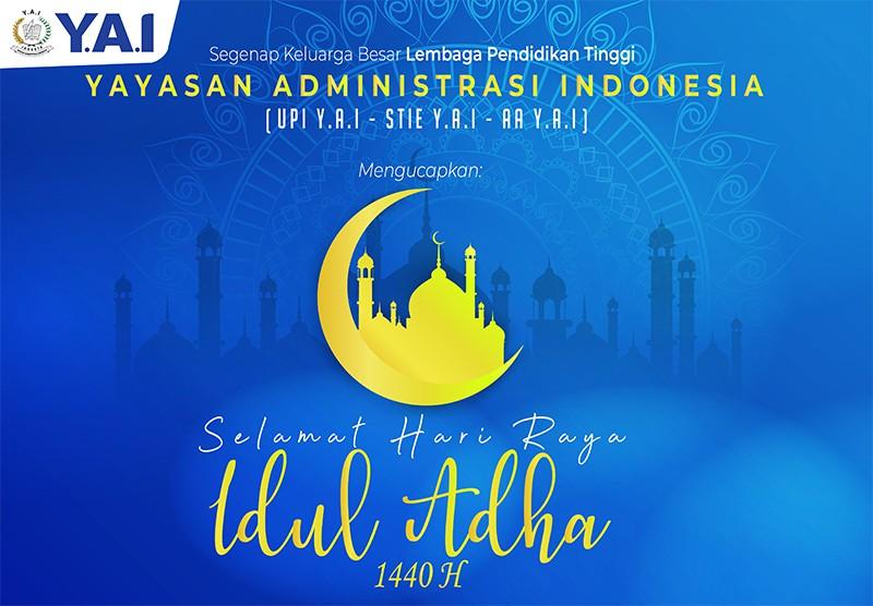 Selamat Hari Raya Idul Adha 1440 H