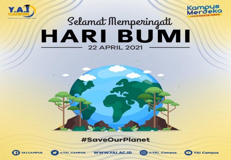 Selamat Memperingati Hari Bumi 22 April 2021