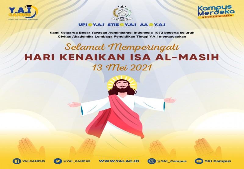 Selamat Memperingati Hari Kenaikan Isa Al-Masih 13 Mei 2021