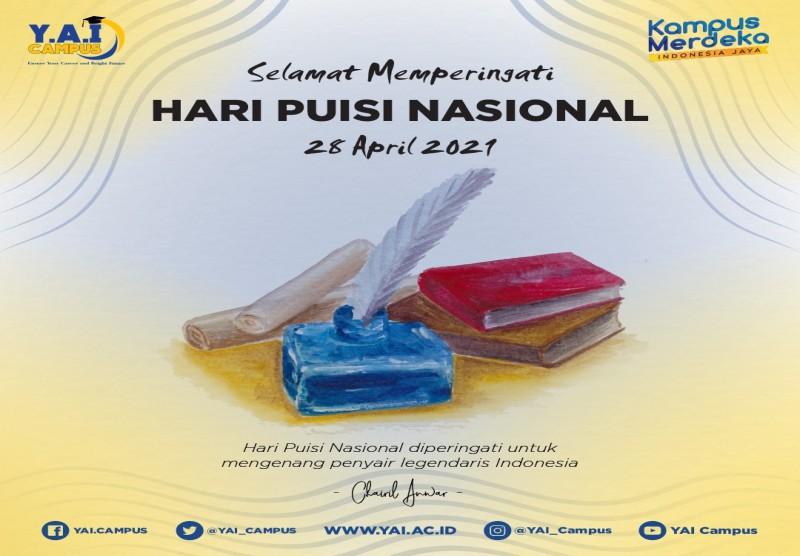 Selamat Memperingati Hari Puisi Nasional