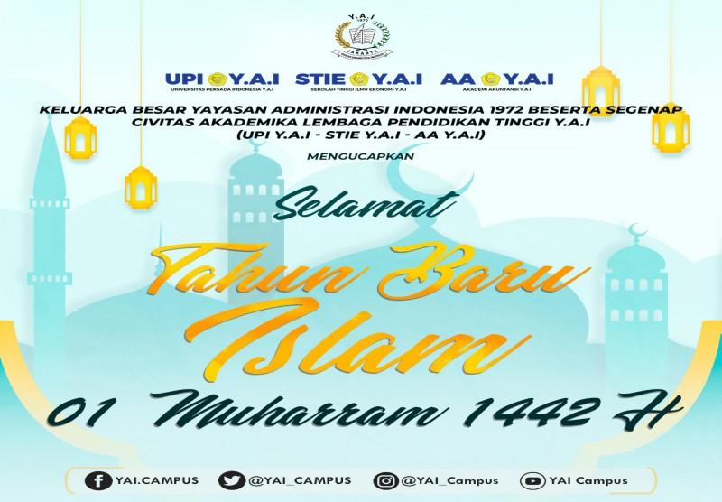 Selamat Tahun Baru Islam 01 Muharram 1442 H