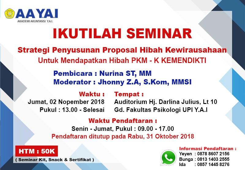 Seminar Akademi Akuntansi Y.A.I