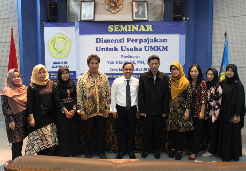 Seminar Dimensi Perpajakan untuk Usaha UMKM