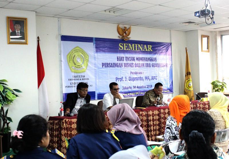Seminar Fakultas Ekonomi dan Bisnis UPI Y.A.I