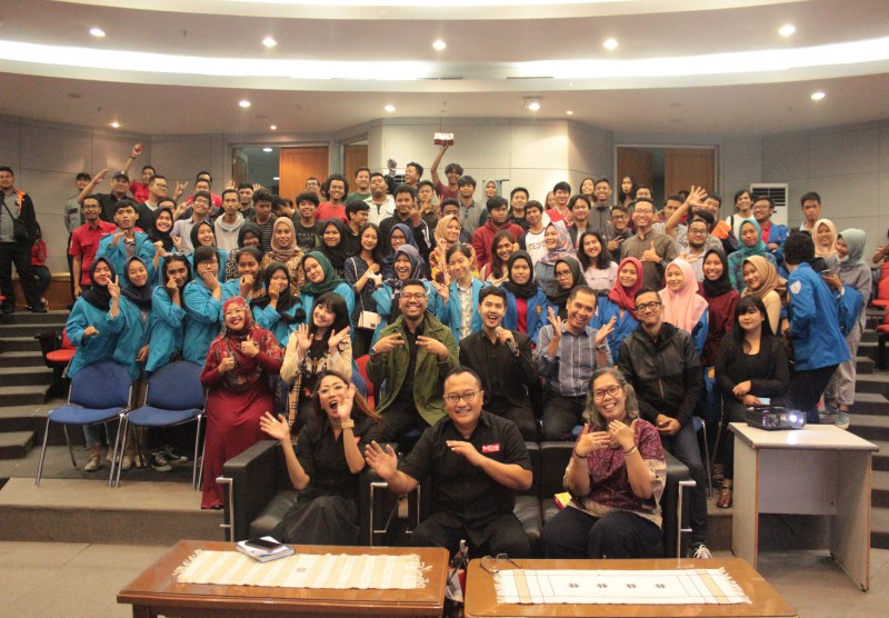 "Coaching Clinic Goes to Campus""Indonesia Lawyer Club - Di Balik Layar"""