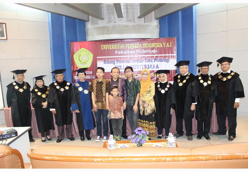 Sidang Promosi Doktor Ilmu Psikologi