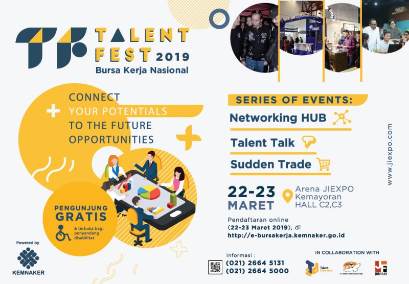 Talent Fest Bursa Kerja Nasional XVIII