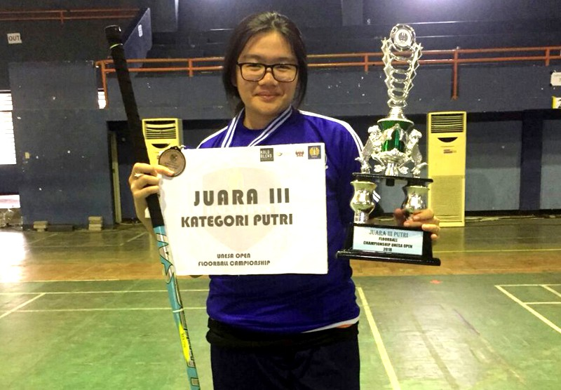 Unesa Floorball Open Championship Se- Indonesia 2018