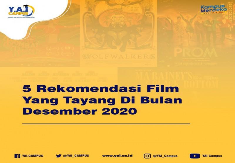5 Rekomendasi Film Yang Tayang Di Bulan Desember 2020