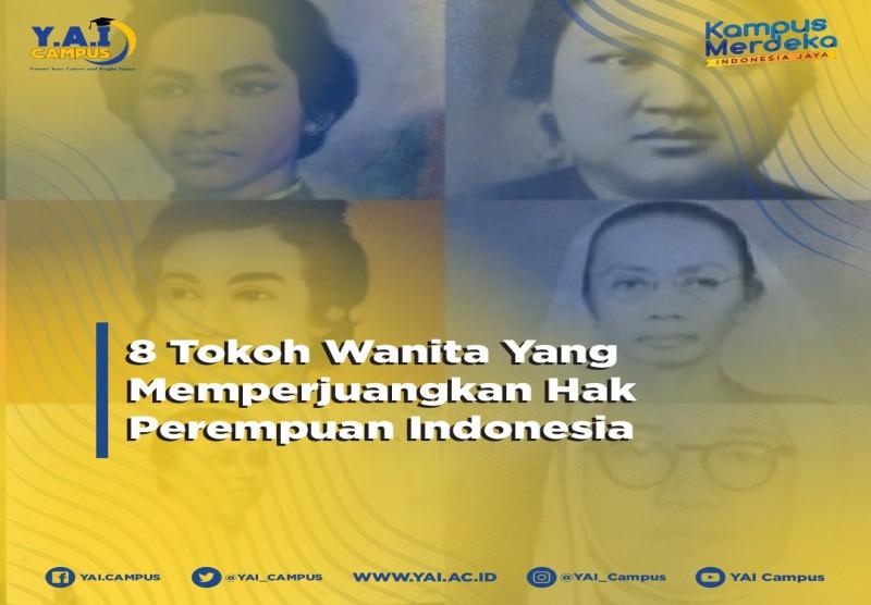 8 Tokoh Wanita Yang Memperjuangkan Hak Perempuan Indonesia