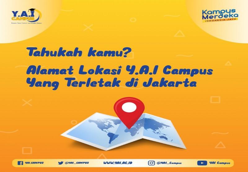 Alamat Y.A.I Campus di Jakarta