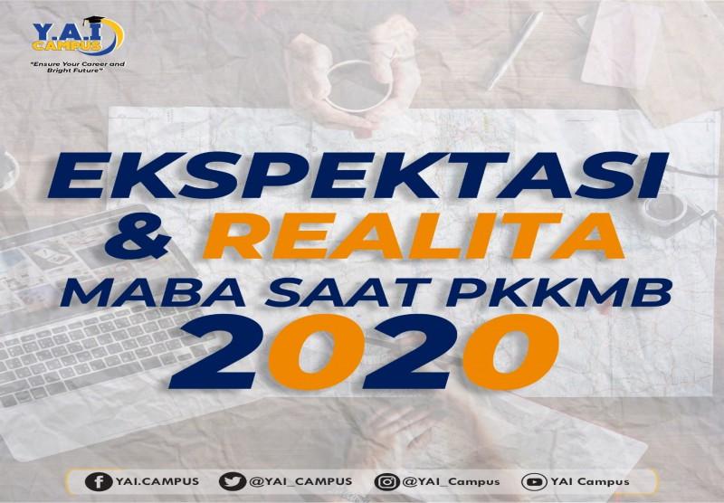 Ekspektasi dan Realita Maba saat PKKMB 2020