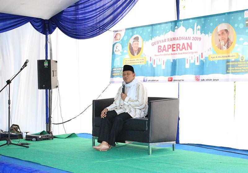 Gebyar Ramadhan oleh UKM Ishlah LPT Y.A.I