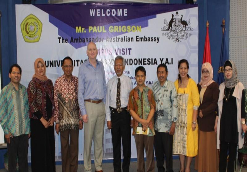 Kunjungan Kedutaan Besar Australia