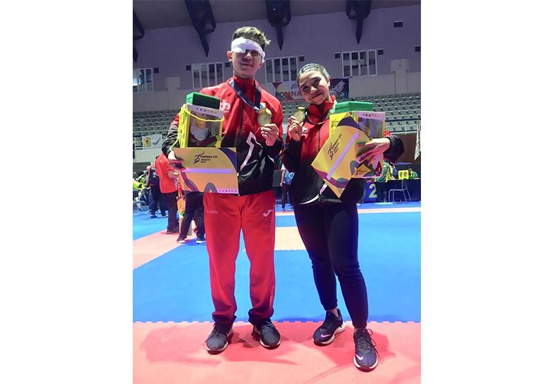 Mahasiswa Berprestasi Kampus Y.A.I - Medali Emas Karateka POMNAS XVI Jakarta 2019