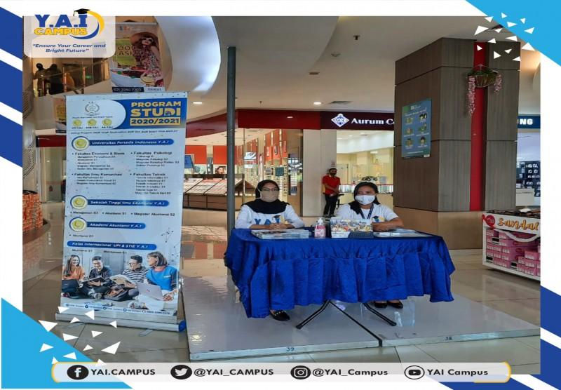 Pameran Pendidikan LPT Y.A.I di Mall Bassura Jakarta Timur (LG Floor - Lobby Utama)