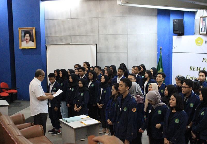 Pelantikan Pengurus BEM & BPM Fakultas Psikologi UPI Y.A.I