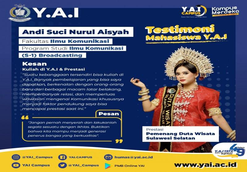 Pemenang Duta Wisata Sulawesi Selatan 2020