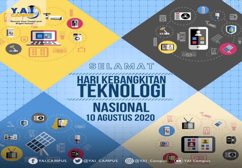 Selamat Hari Kebangkitan Teknologi Nasional