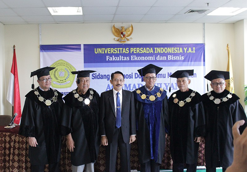 Sidang Promosi Doktor Ilmu Manajemen Juli 2019