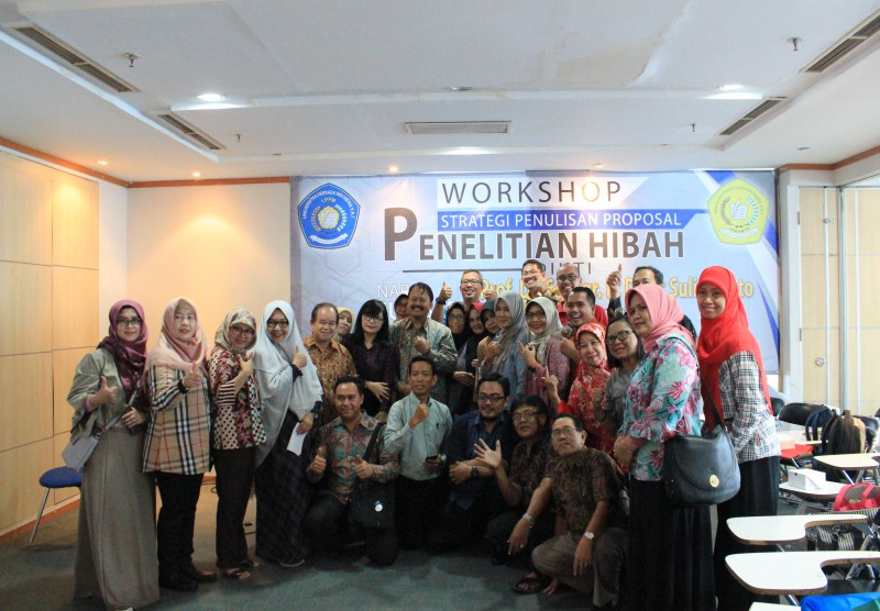 Workshop Nasional Strategi Penulisan Proposal Hibah Penelitian