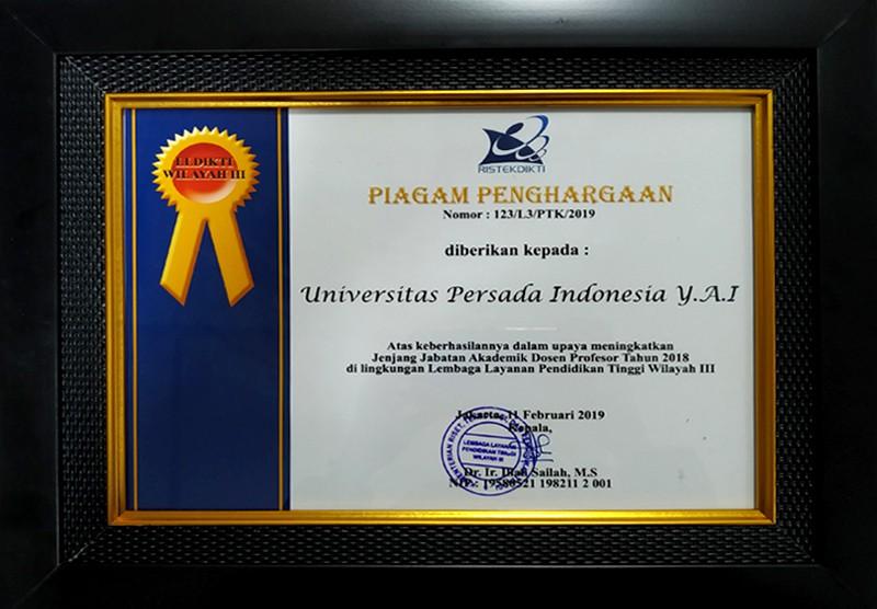 Penghargaan UPI Y.A.I